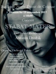 affiche concert de ceignac 19 novembre 2017