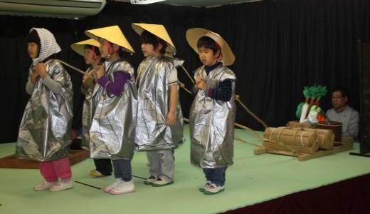 うめ組(年長)・らいおん組、ぞう組(年中)の劇遊びの会