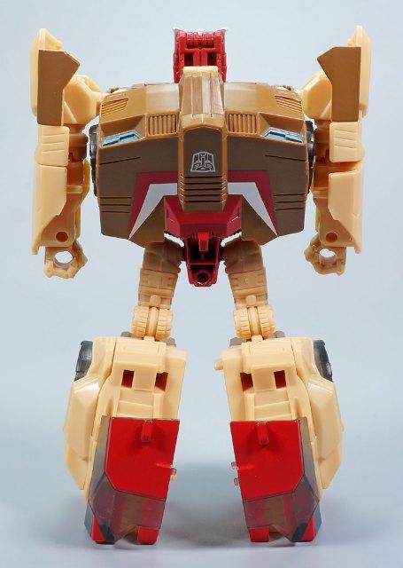 レトロヘッドマスターズ クロームドーム ロボットモード
