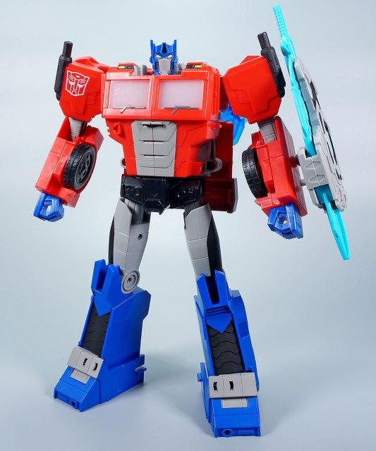 バトルコール オフィサー オプティマスプライム パッケージ ロボットモード