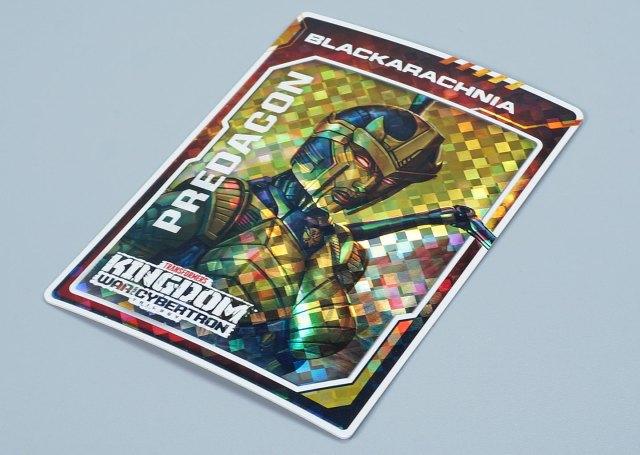 キングダム ゴールデンディスクカード