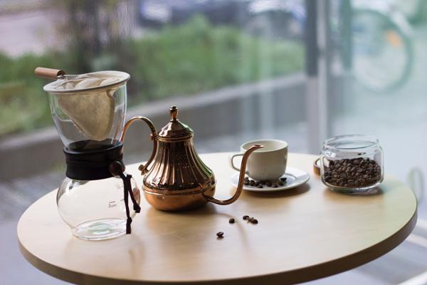 커피와 커피 소품들