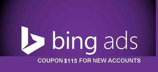 bing coupon $115