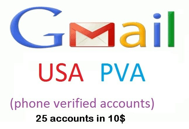 Gmail PVA Account