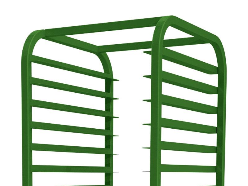GREEN - Green Powder Coat