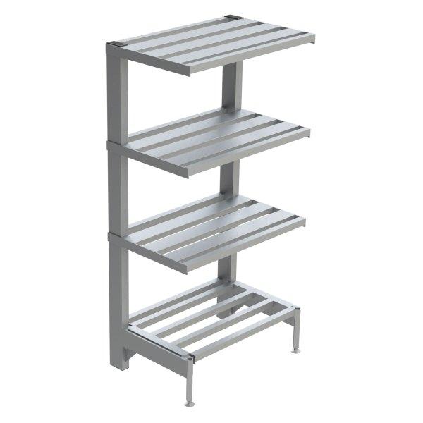 4-Shelf E-Channel Cantilever Shelving