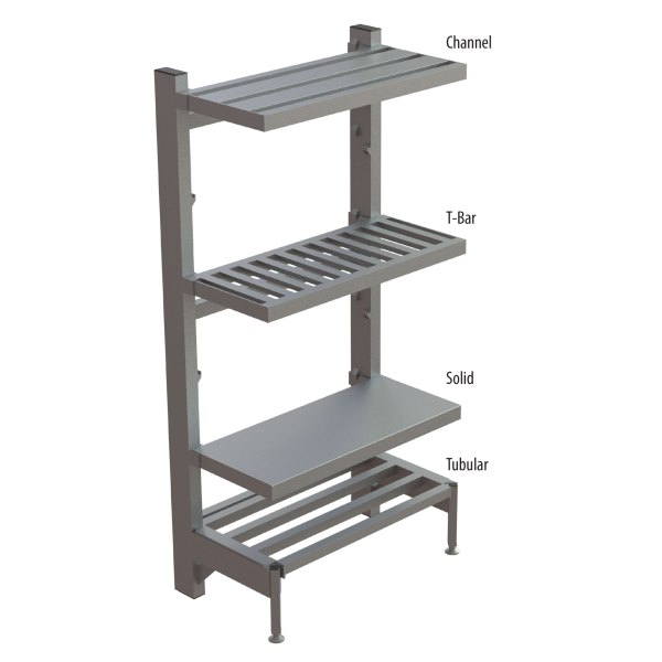 SU65 Adjustable Cantilever Shelving