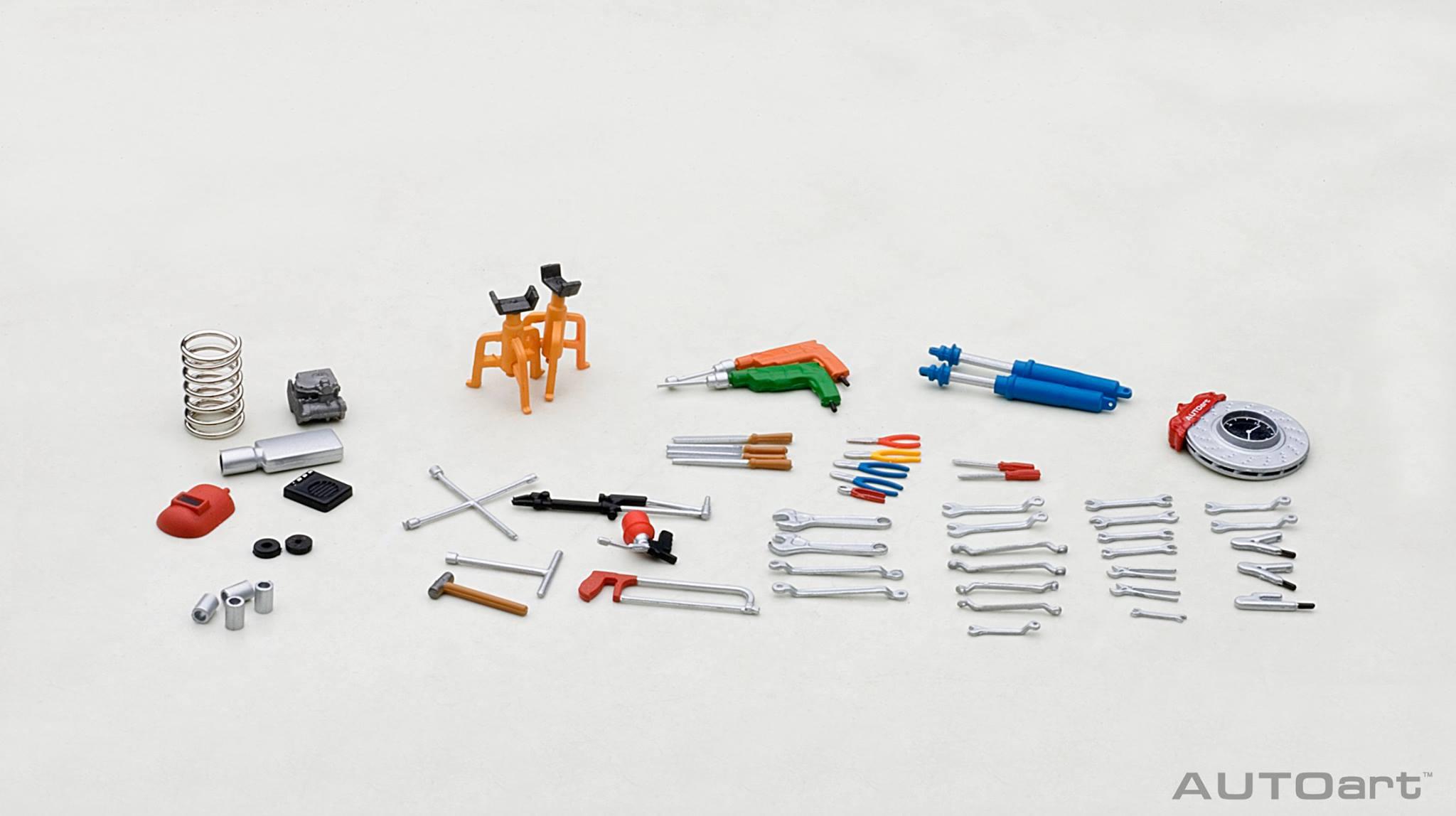 Garage Kit Set By Autoart