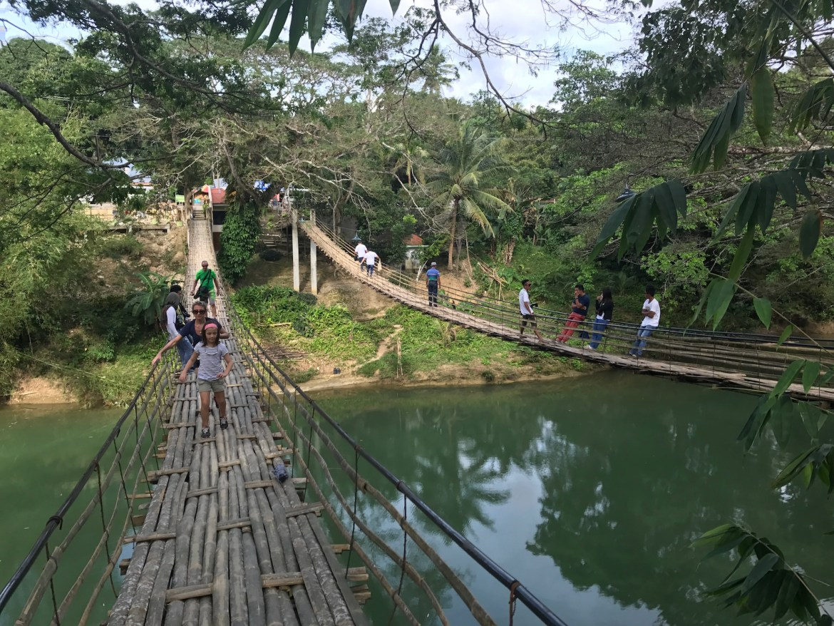 Bamboo Hanging Bridge Bohol