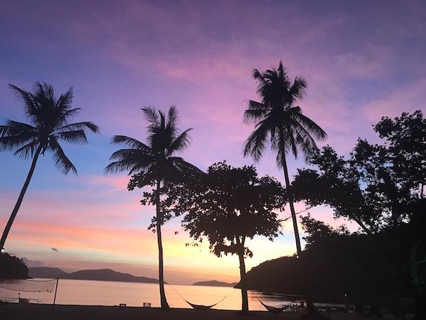 Philippinen sunset