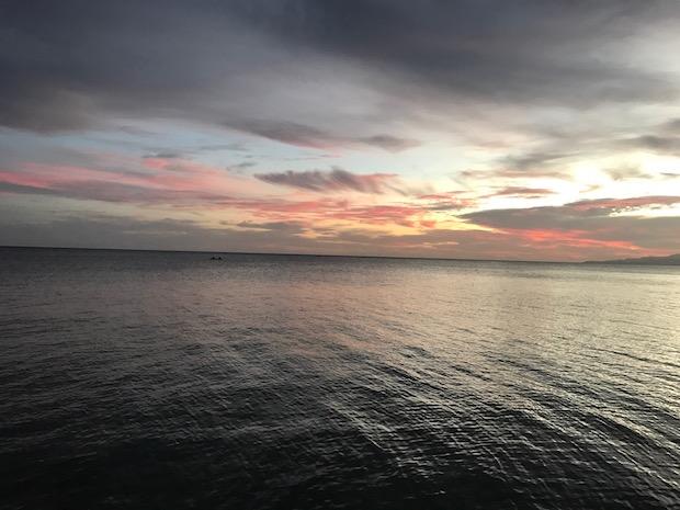 Sonnenuntergang Anda Philippinen