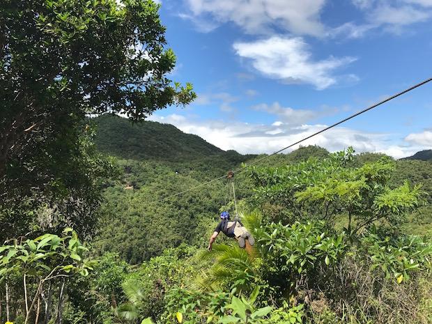 Zipline Bohol Philippinen