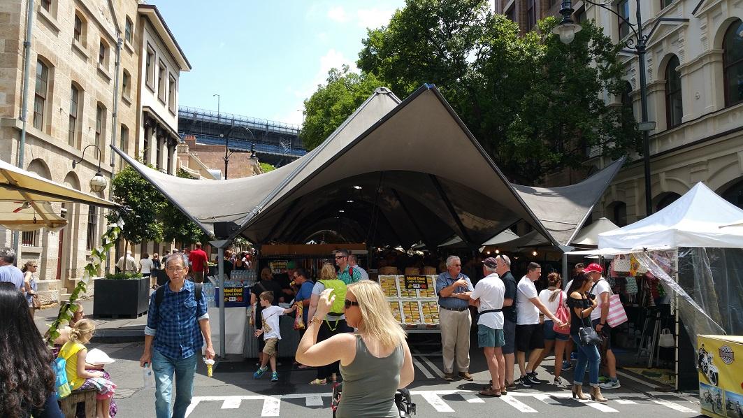 The Rocks Market Eingang