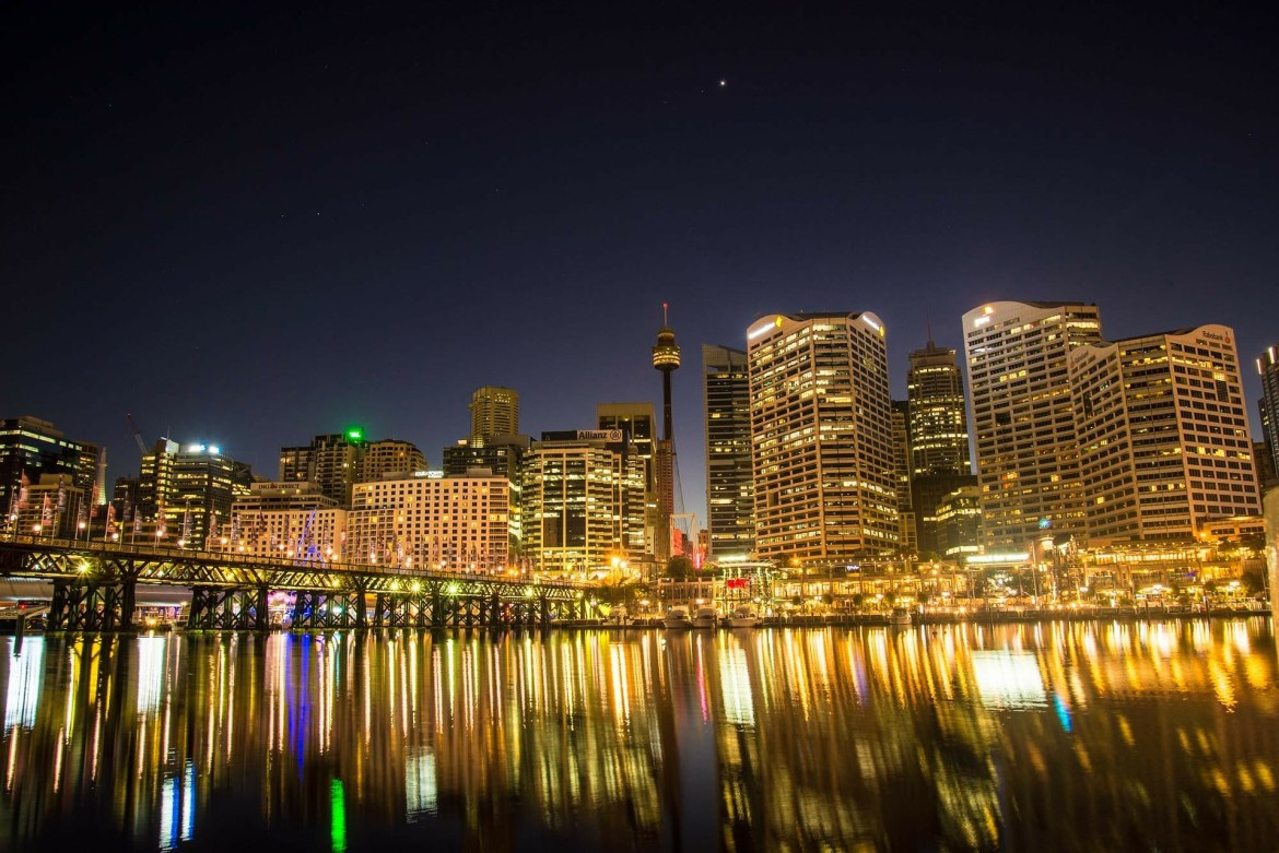 Darling Harbour Australien