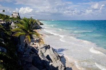 Tulum Mayastaette Mexiko