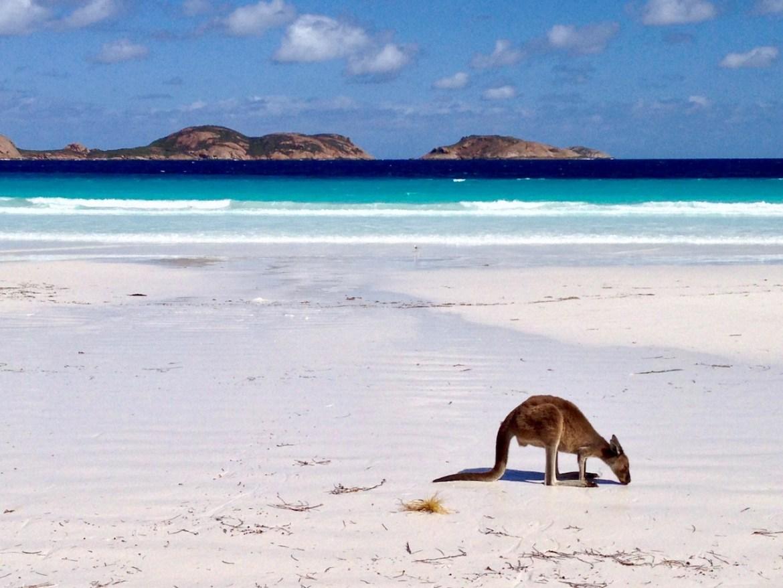 Australien Lucky Bay