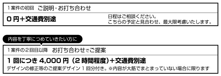 ホームページ用料金2