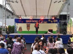 デビルスティック パフォーマーCONRO×エスアールエル富士レビオ 夏祭り2016