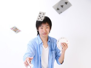 カード投げ ~Cards Throwing~