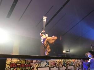 ハウステンボス開催日本一の鬼マメパ(和太鼓超人)