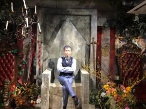 超人プロ社長×王宮の魔法学校