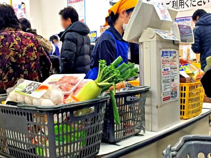 スーパーで食費の節約術
