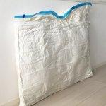 【客用布団の収納】コンパクトに収納するなら、やっぱり圧縮袋が優秀!