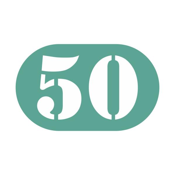 50-tal stickers