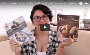 Libros fotografias de alimentos