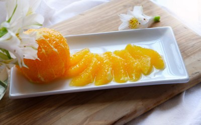 supremas de naranja