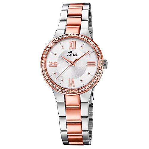 5d1d8586d486 Lotus Reloj Analógico para Mujer de Cuarzo con Correa en Acero Inox -  CHOLLISMO