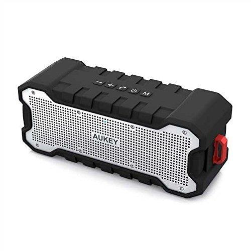 AUKEY Altavoz Bluetooth al Aire Libre con Tiempo de Reproducir de 30