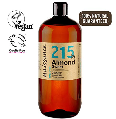 Naissance Aceite de Almendras Dulces n. º 215-1 Litro – 100% natural para humectar y equilibrar la piel, hidratar el cabello y todo el cuerpo.    Precio: 11.99€        visita t.me/chollismo