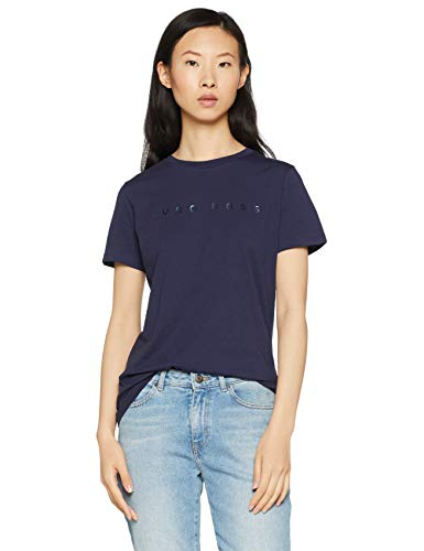 BOSS Tedecent Camiseta, Azul (Dark Blue 408), Small para Mujer    Precio: 19.95€        visita t.me/chollismo