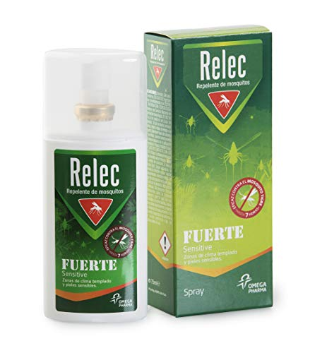 Relec Fuerte Familiar Spray Eficaz Antimosquitos. Sin Olor. Pieles Sensibles. Repelente Mosquitos – 75 ml    Precio: 6.33€        visita t.me/chollismo