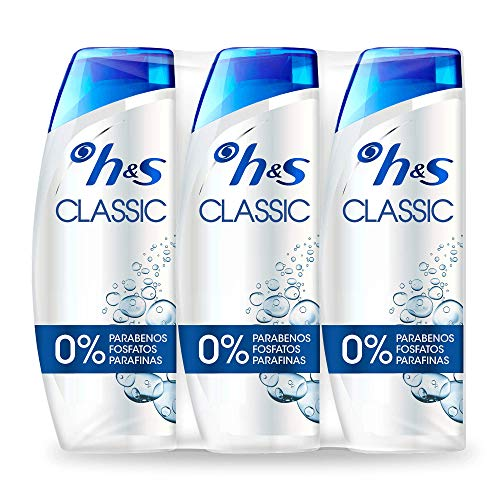 Head & Shoulders Classic – Anticaspa Champú, 3 x 540 ml    Precio: 13.75€        visita t.me/chollismo