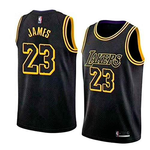 MTBD NBA Lebron James, NO.23 Lakers Retro, Camiseta de Jugador de Básquetbol, Bordado Transpirable y Resistente al Desgaste Camiseta de Fan de Hombres    Precio: 16.89€        visita t.me/chollismo