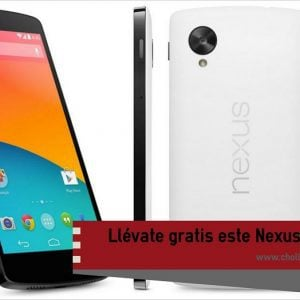 Sorteo de un LG Nexus 5 16Gb, totalmente gratis