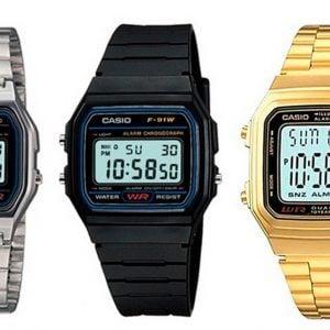 Relojes marca Casio vintage desde 16,99 euros. Te ahorras un 31%