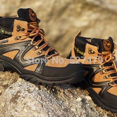 Botas de trekking en goretex por tan sólo 35 euros.