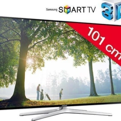 Televisor LED 3D Smart TV Samsung UE40H6400 por 459,99 euros (Ahorra 340 euros)