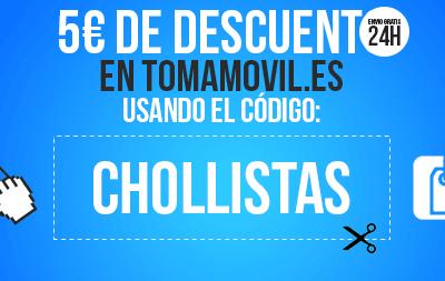 Código descuento exclusivo para nuestros lectores en la tienda de móviles con mejores precios de España: tomamovil.es