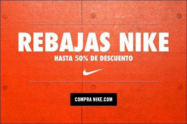 Rebajas Nike de primavera. Hasta 50% descuento