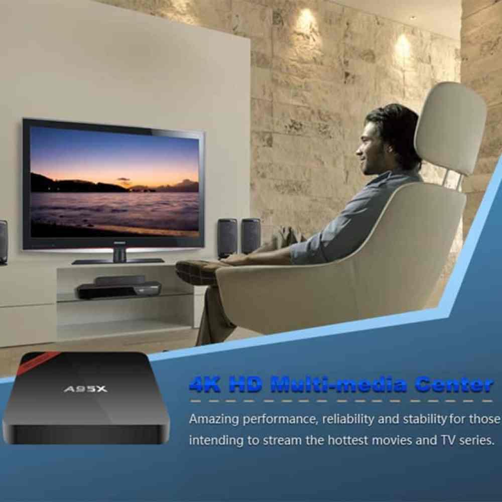 Oferta TV Box Android NEXBOX A95X por 17 euros (Almacén España)