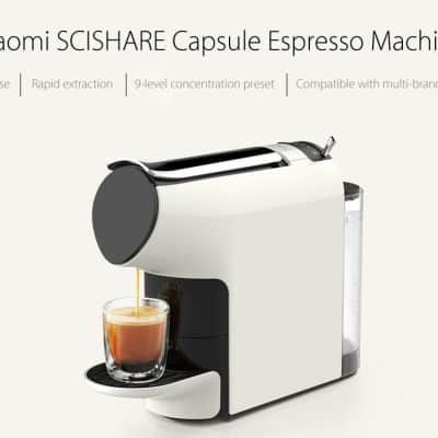 Oferta cafetera Xiaomi Scishare por 143 euros (Cupón Descuento)