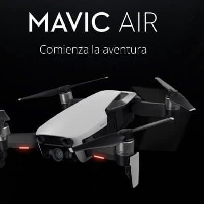 NOVEDAD: Oferta Dron DJI Mavic AIR por 703 euros (Cupón Descuento)