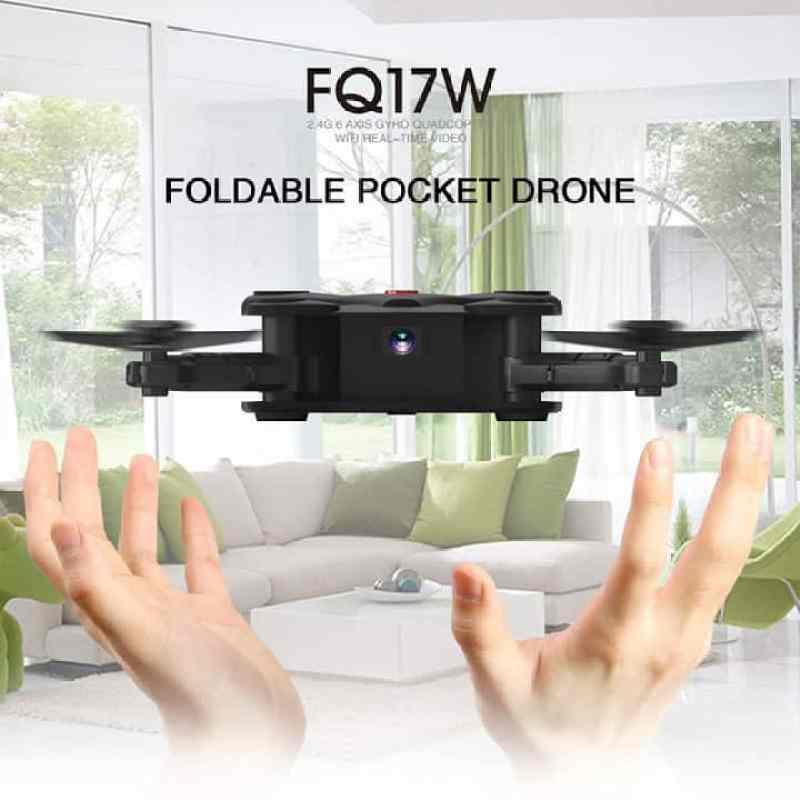 Oferta dron plegable FQ777 FQ17W por solo 26 euros (Cupón descuento)Oferta dron plegable FQ777 FQ17W por solo 26 euros (Cupón descuento)