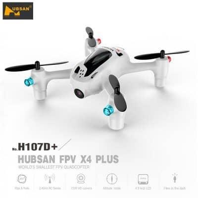 Oferta dron Hubsan X4 H107D+ por 67 euros desde España