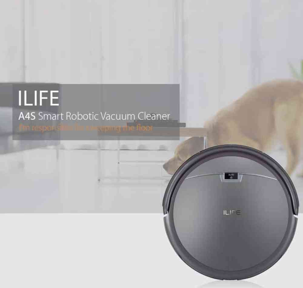 Oferta robot aspirador iLIFE A4S por 133 euros (Cupón Descuento)