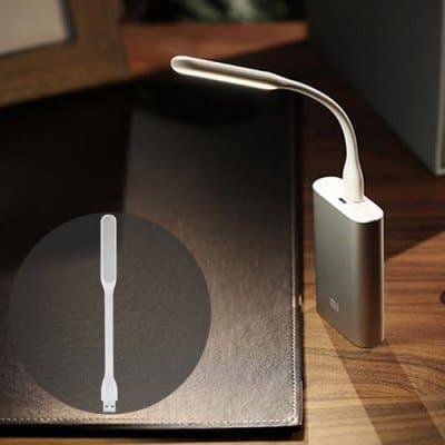 Chollazo lámpara LED portable USB Xiaomi por solo 81 céntimos (Cupón Descuento)